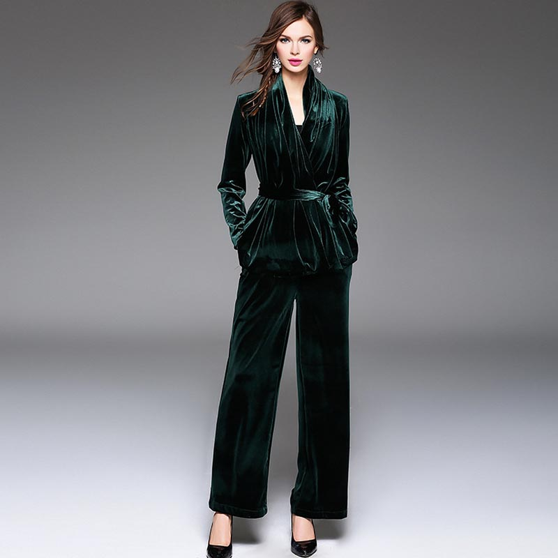 New Arrival 2017 Spring Women s Sexy V Neck Long Sleeves Velour Sash Bow Jackets with