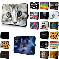 2017 Notebook Bag Men Portable Laptop 7 10 12 13 14 15 17 Inch Sleeve Bags Womens Neoprene Cover Cases Pouch Protector Wholesale