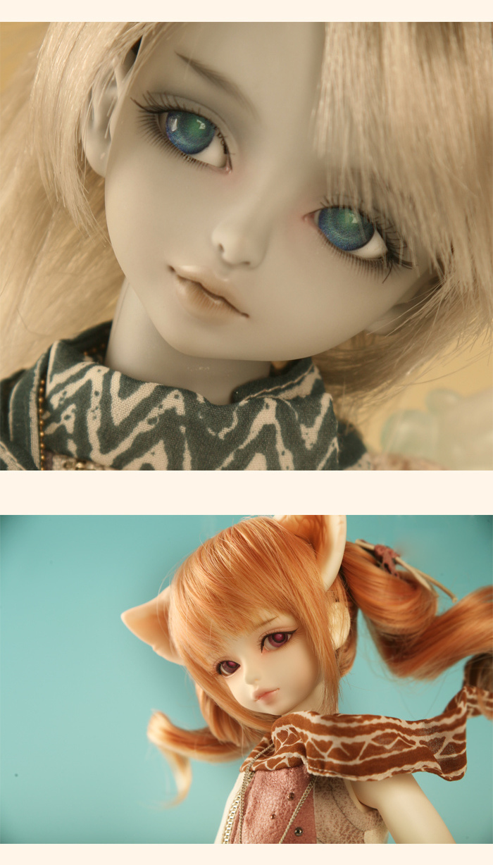 Free shipping!makeup and eyes included!top quality 1/4 bjd doll the GERM girl Grey boy Ace Wind Elves hobbie toy soo mmodel gift