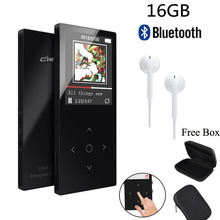 Original MP3 Player Bluetooth with 16GB 1.8″Screen FLAC Hifi MP3 Player High Quality Lossless Audio MP3 FM Voice Recording