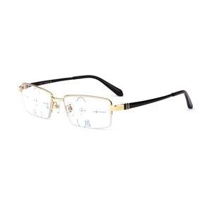 Image 5 - Lunettes de lecture multifocales Anti rayons bleus, lunettes progressives, pour lecteurs à rayons GAMMA, presbytie à mise au point Multiple, lunettes légères de marque