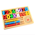 Creative Game Digital Learning Box/Baby Children Educational Wooden Toys Birthday Gift Childhood oyuncak