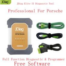 Автоматический сканер jdiag Элитные II Pro для Porsche диагностики и программирования офлайн кодирования лучше, чем PIWIS 2 бесплатное программное обеспечение