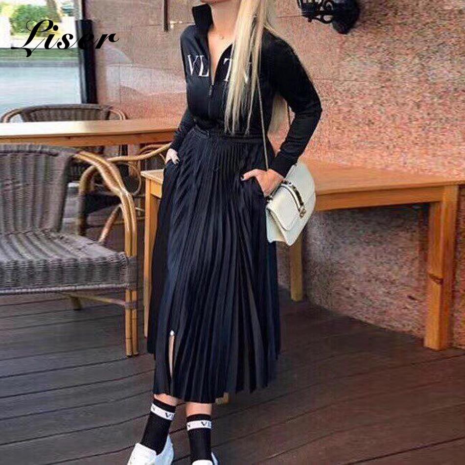 Liser Party Long Turtleneck 2019 Sexy Women White New Vestidos Wholesale Celebrity Sleeves Dresses Bodycon Summer Black Dress rSccTPpW1