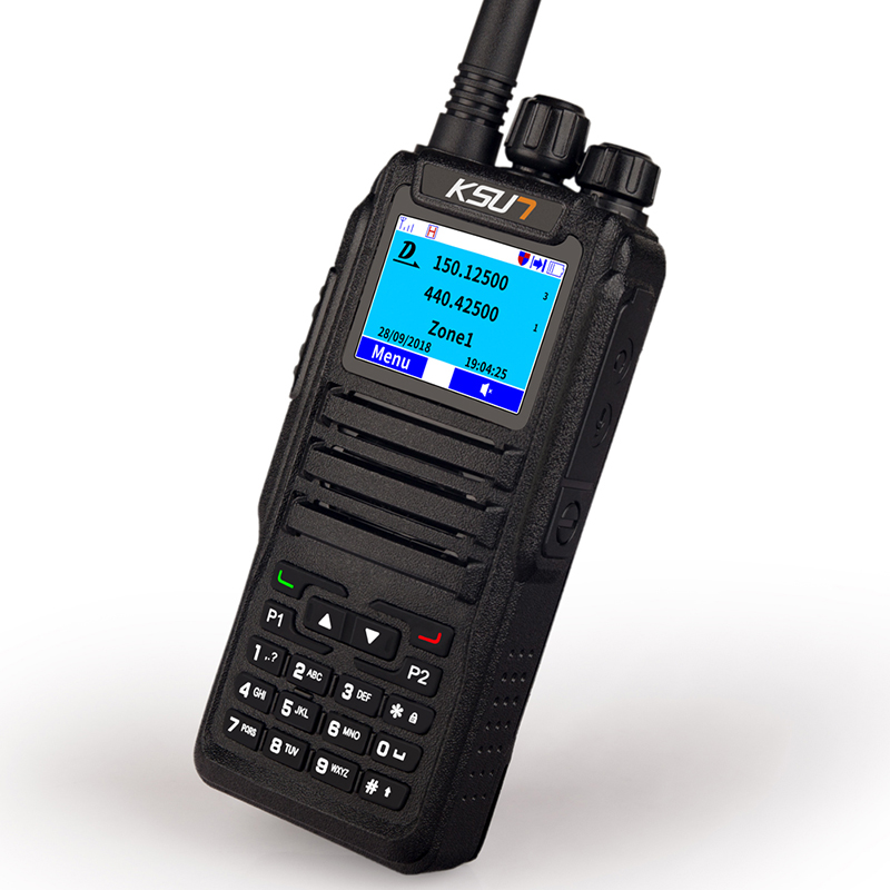 U/V Dual Band Professional FM Transmitter DMR7 D2 Ham Radio Equipment With DTMF Walkie Talkie
