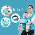 2017 Animal Ergonomic Baby Carriers With Bag Cotton Infant Backpack & Carriers Kid Carriage Baby Wrap Sling Child Baby Carrier