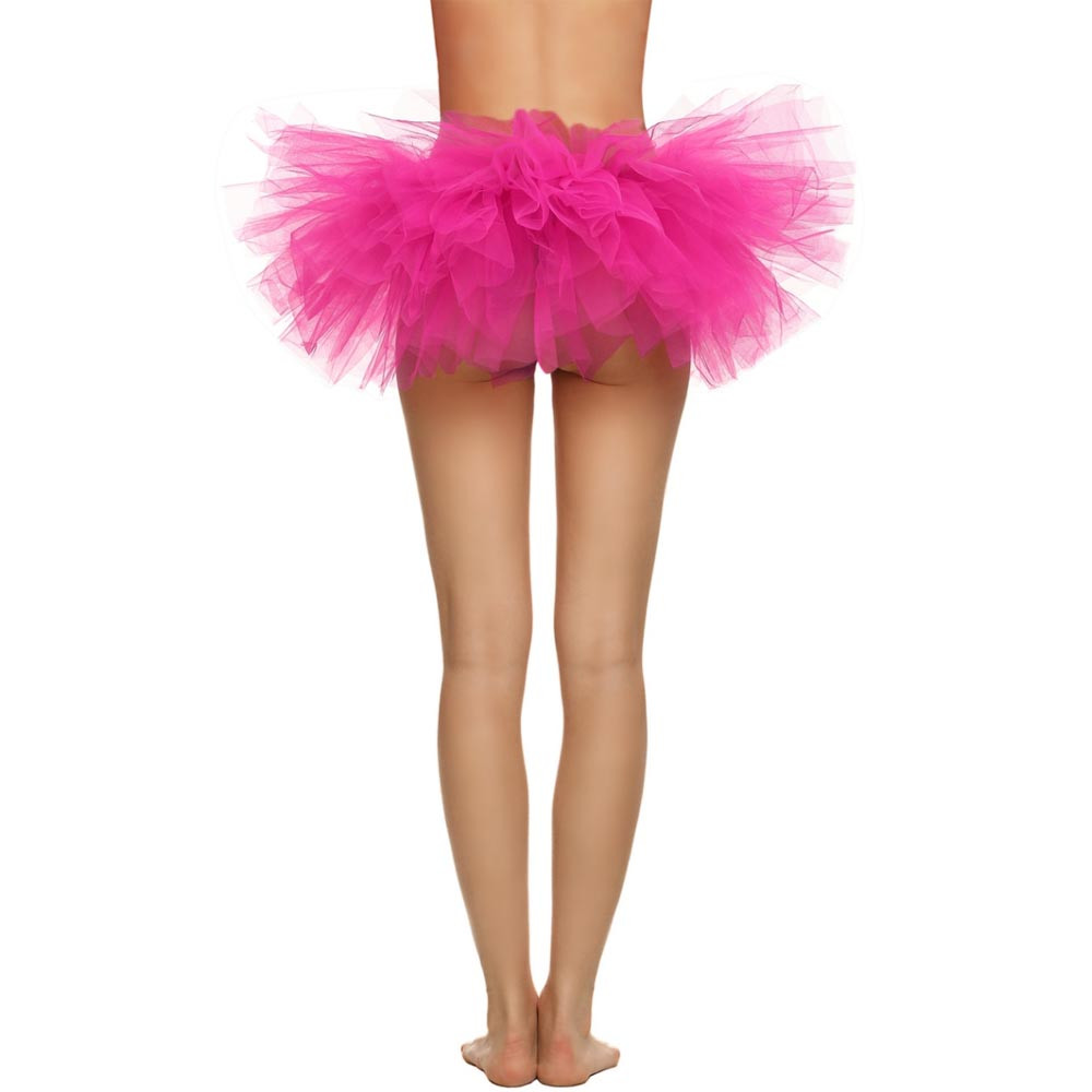 2019 MAXIORILL NEW Hot Sexy Fashion Pretty Girl Elastic Stretchy Tulle Adult Tutu 5 Layer Skirt Wholesale T4 89