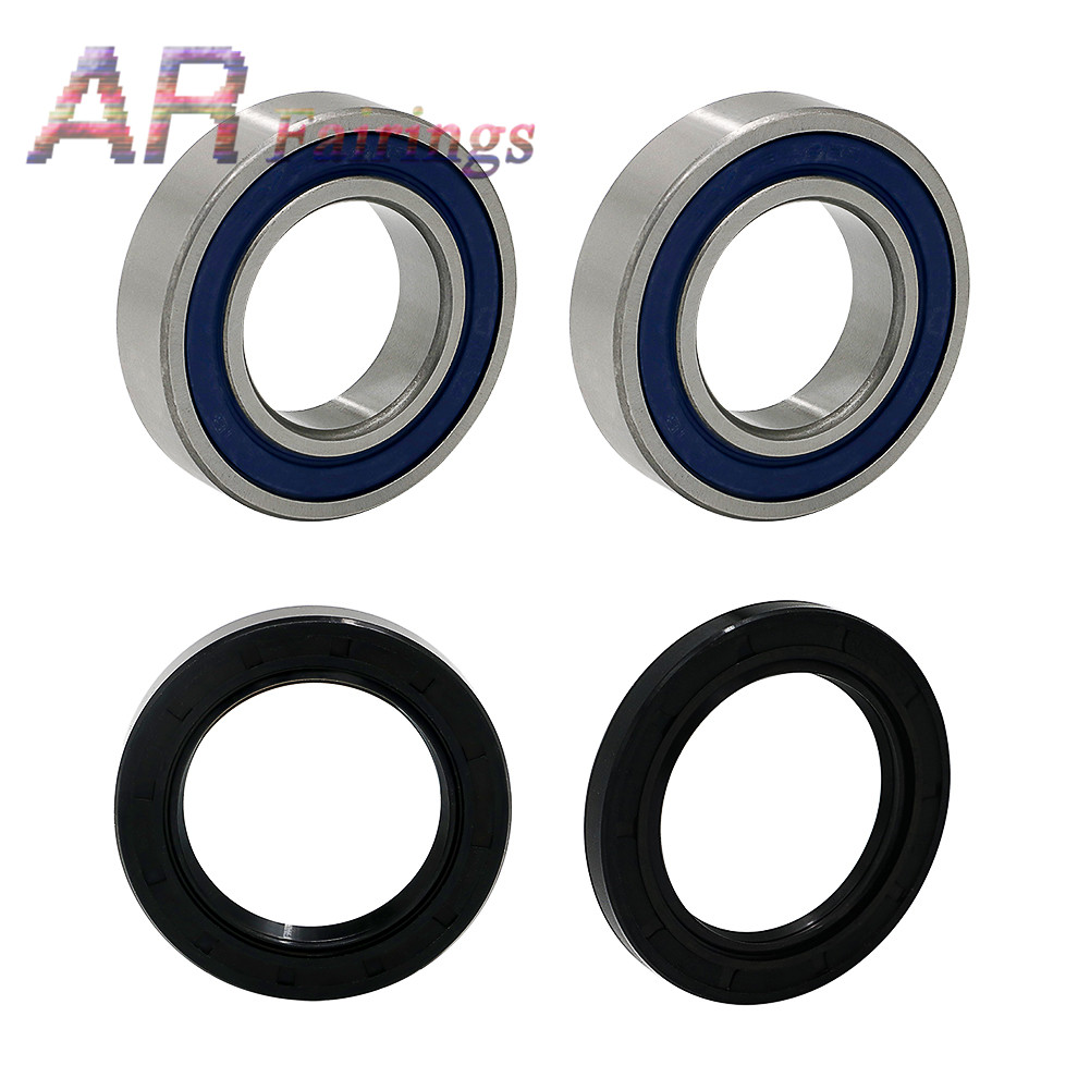 Rear Wheel Bearing & Seals Kit For Suzuki King Quad Quadrunner 250 300 4WD LTF