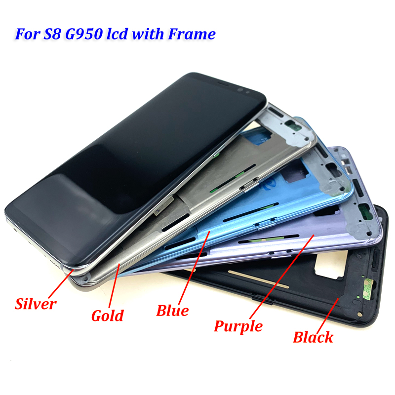 For-S8-plus-G950-lcd-with-frame-all-7