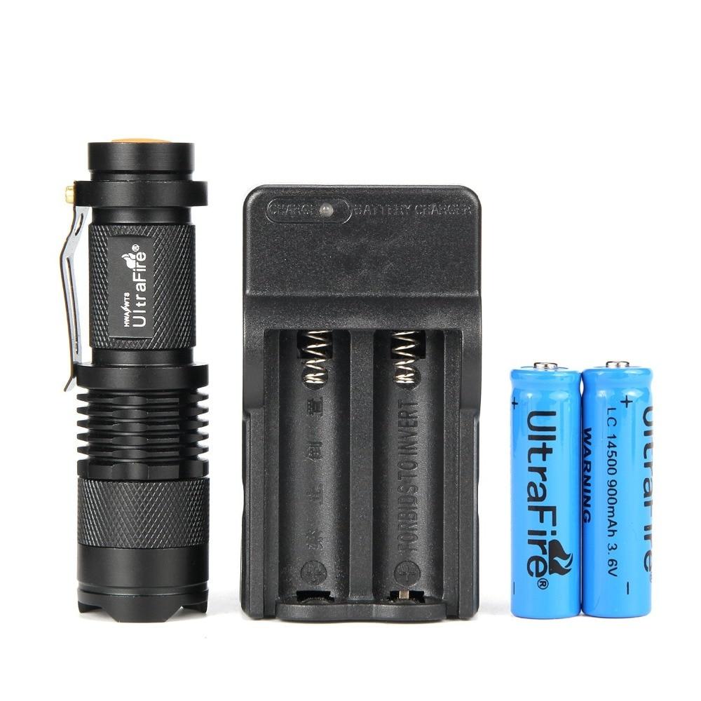 <font><b>LED</b></font> Flashlight Pocket Adjustable Torch 3 Modes 300LM With 14500 Rechargeable Battery Zoomable <font><b>LED</b></font> antorcha <font><b>linterna</b></font> <font><b>led</b></font>
