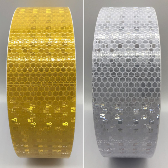 5cmx50m Reflective Tape Sticker For Bicycle Protection Bicycle Decals Stickers Protection For Bicycles Stickers 2