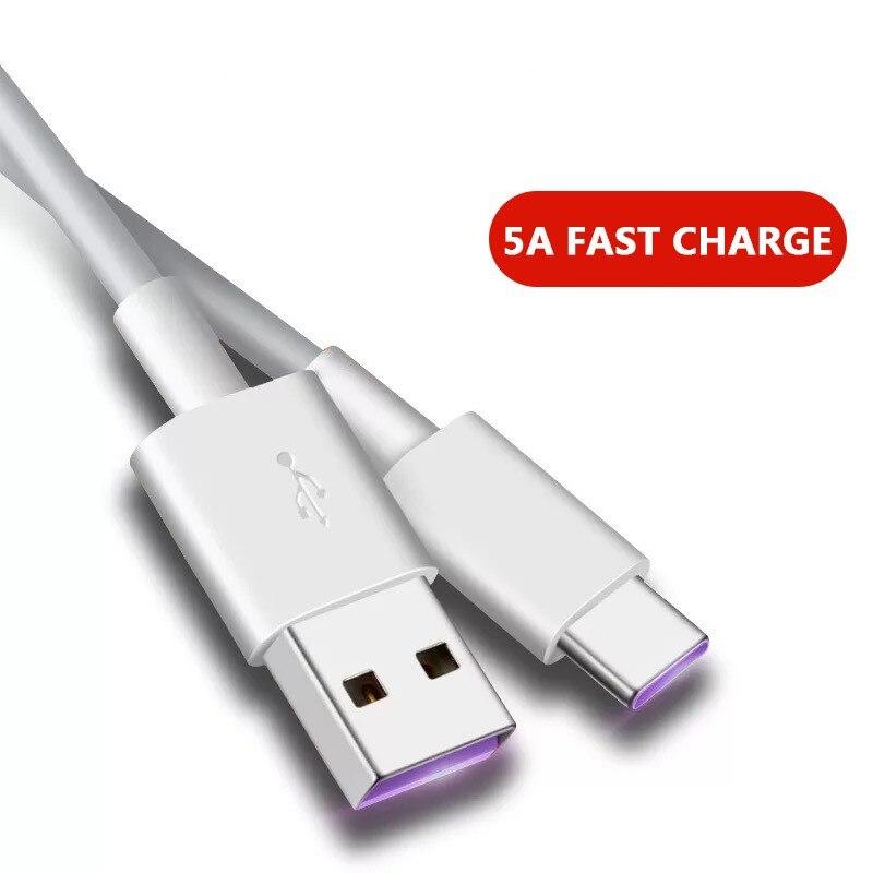 5А флэш-кабель для зарядки USB Type-c для Huawei P30/Mate20/Samsung S10/Xiaomi 8/5A кабель для быстрой зарядки дата трансформирует скорость вспышки