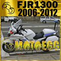 Motoegg ABS Fairing For FJR1300 FJR 1300 2006-2012 06-12 White Y36M12 Motorcycle ABS plastic