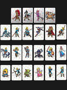 Card Switch Amiibo Mario-Kart-8 Super-Smash The-Games for Wild Zelda of NFC Bros Link
