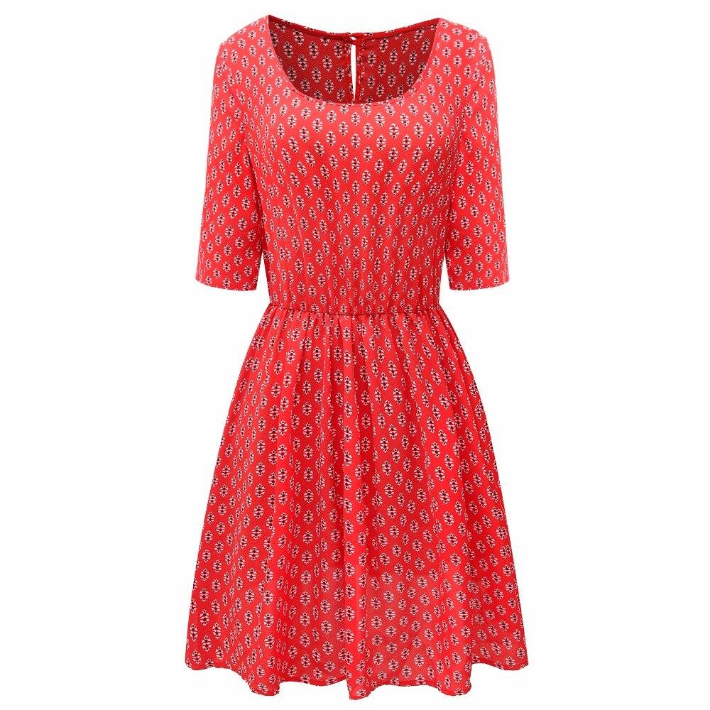 Rogesi 2017 New Fashion Women Dress Famous Designer Floral Print Dresses Women 39 S Clothing 50s