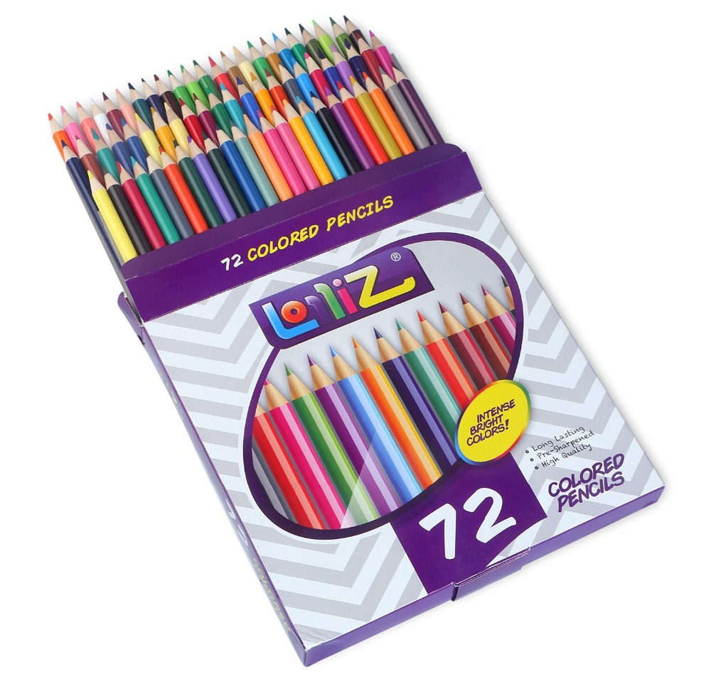 Art colored pencils - Online Shop Lolliz 50 72 Pcs Art Colored Pencils Safe Non Toxic Drawing Sketches Mitsubishi Colour Pencils For Drawing Secret Garde Pencil Aliexpress