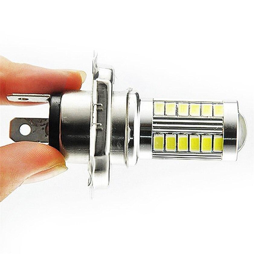 Высокое качество H4 супер яркий 5630 SMD 33-<font><b>LED</b></font> 12 В Авто белый туман лампы для вождения