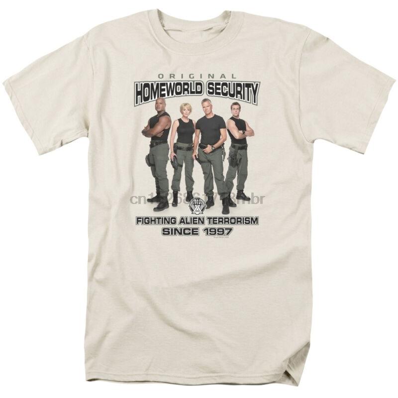 Stargate SG-1 Show SG1 STARGATE COMMAND Licensed Adult T-Shirt All Sizes