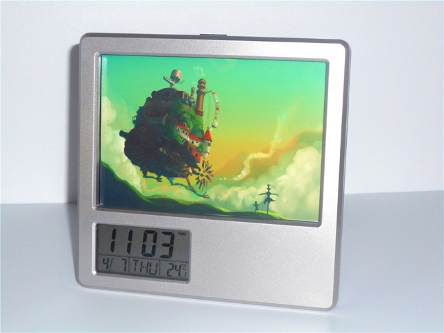 Creative Digital Calendar new howl's moving castle creative digital alarm clock multi