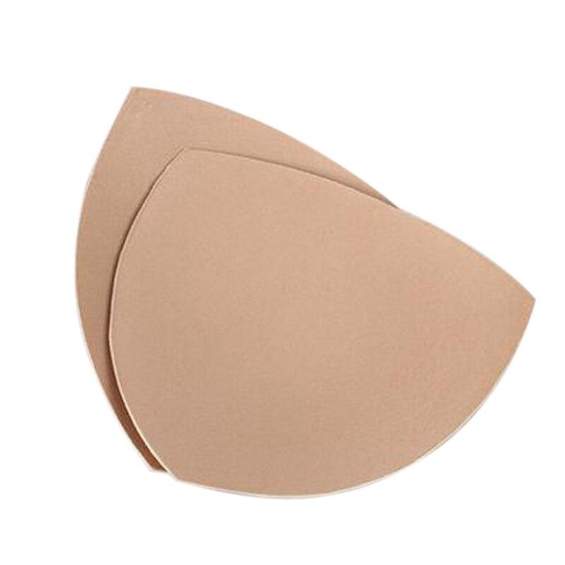 LASPERAL Women Sponge Chest Bra Padded For Suwinsuit Triangle & Round Padding Inserts Breast Enhancer For Bikini Women Underwear