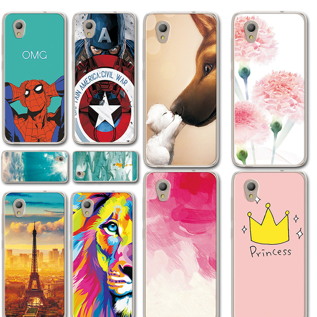 new product 39dd9 f87d1 US $0.87 25% OFF|Iron Man Phone Case For Alcatel 5033D Novelty Starry Sky  Silicone For Alcatel 1 Clear Case Cover For Alcatel 1 5033D 5033A 5.0