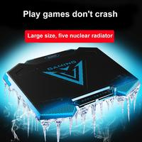 Portable USB Adjustable Angle Laptop Cooling Pad Heat Dissipation Fan Cooler Top Selling