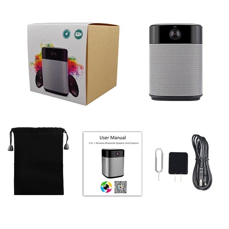 Keeper HD 1080 P mini Wifi IP Camera en Bluetooth Speaker Security Camera met Night Vision Two Way Audio Motion detectie - 5