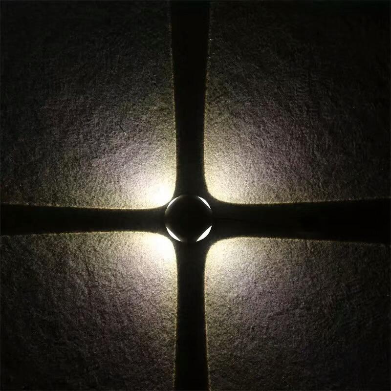 tv, plano de fundo, luz decorativa de parede
