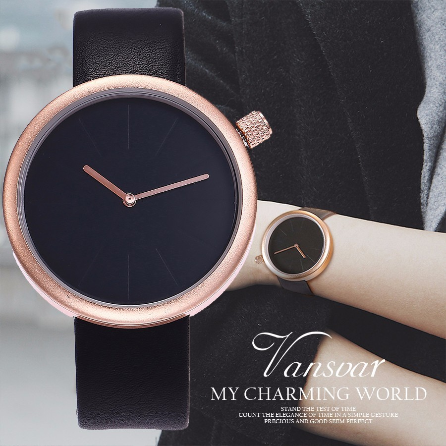 New Fashion Simple Style Watch Famous Luxury Brand Quartz Watch Women Casual Leather Watch Clock Relogio Feminino Montre Femme longbo brand genuine leather lovers quartz watch simple style women men casual watch waterproof relogio masculine feminino clock