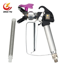 3600PSI High Pressure Airless Paint Spray Gun +517 Tip + Nozzle Guard for Wagner Titan Pump Sprayer Spraying Machine