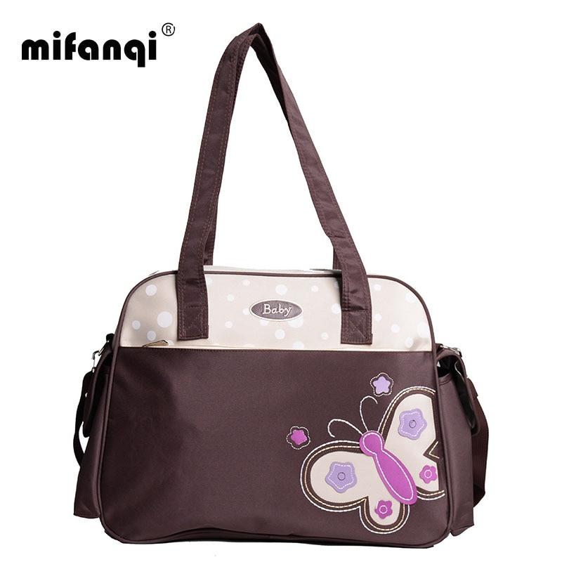 Multicolor Diaper Bag Shoulder Handbag High Quality Maternity Mother Stroller Mummy Multifunctional Baby Bags