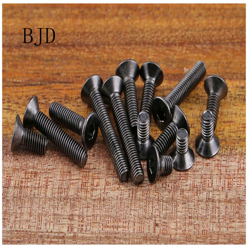 100Pcs Grade10.9 DIN7991 ISO10642 JISB1194 M2 M2.5 M3 M4 M5 M6 Alloy steel 304 Hexagonal Countersunk Screw Flat Head Screw Bolt cartier baiser vole essence de parfum