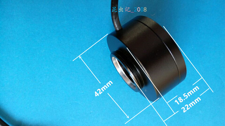 The inner diameter 20mm is used to detect the internal and external threads of the LED ring light source