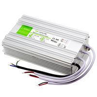 300W High Power LED Constant voltage Driver Aluminum Output DC12V 25A adapter IP67 Outdoor lamps waterproof lighting Transformer