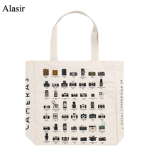 Alasir Artsy Camera Shoes Canvas Hand Bags Large Capacity To