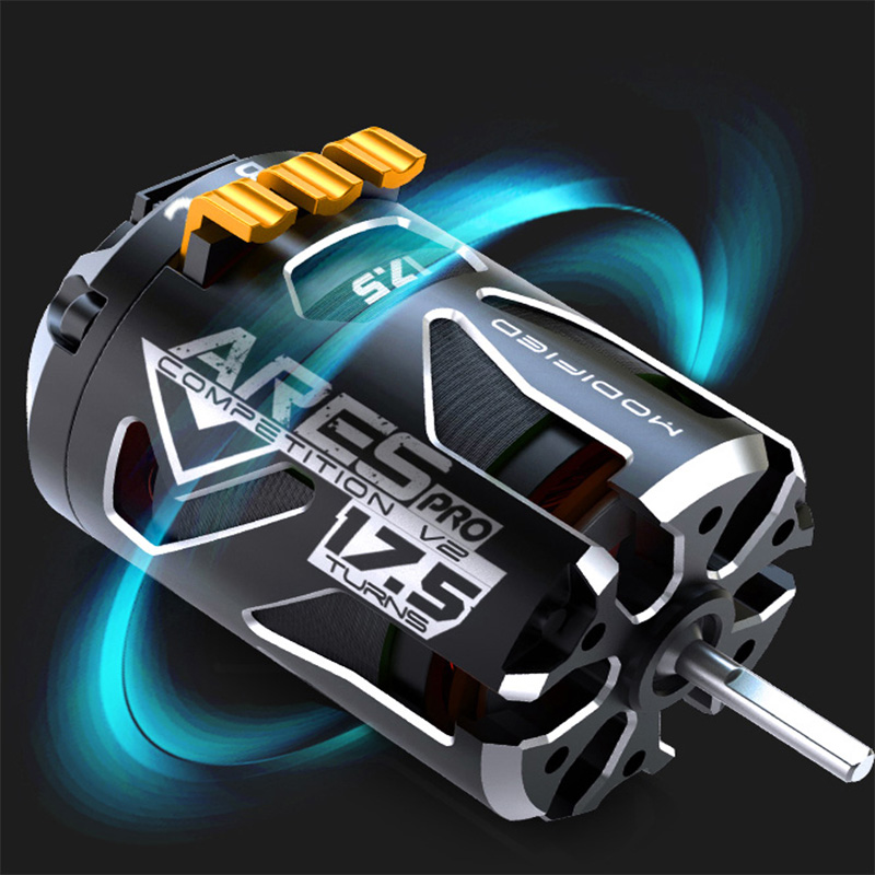 US $59 51 7% OFF ARES PRO V2 Sensored Brushless Motor 1/10 Competition  Motor 17 5T 2200KV Brushless Motor SPEC Racing Car for RC Competition  Car-in