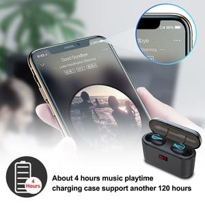 Image 4 - Bluetooth 5,0 TWS Blutooth наушники, беспроводные наушники для телефона, свободные руки, спортивные наушники, Беспроводная стереогарнитура, наушники обручи, наушники вкладыши, наушники вкладыши