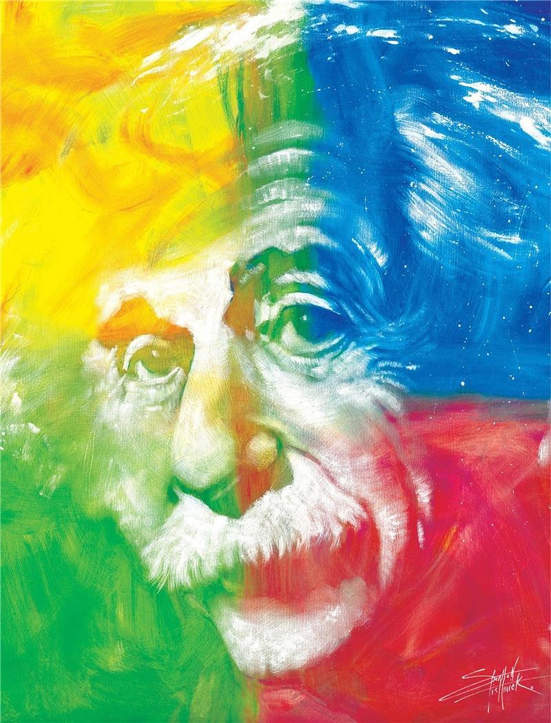 кронштейн эйнштейн альберт постер прикольный пост сети