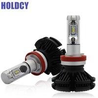 H4 9007 9004 Hi Lo Beam H11 LED Car Headlight Bulbs 50W 6000LM All In One