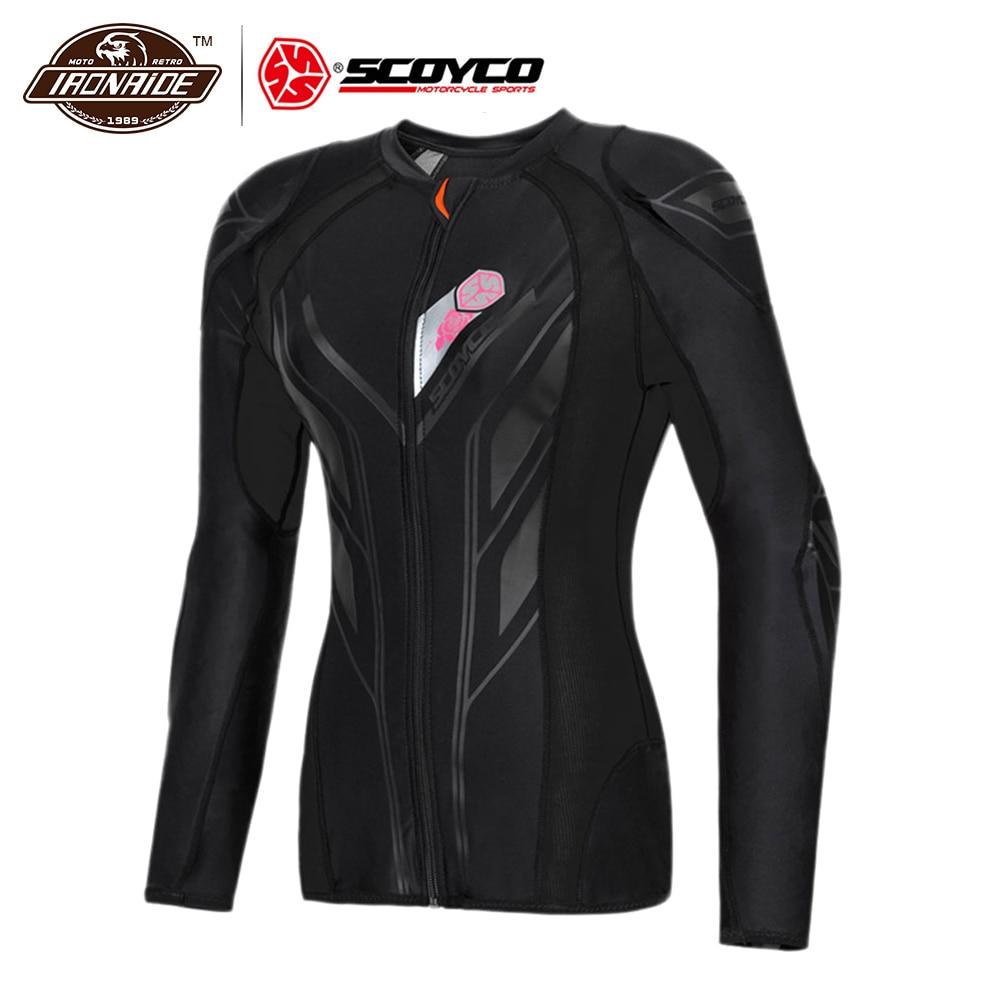 SCOYCO Motocross Body Armor Motorcycle Jacket Motorcycle Armor Protection Moto Racing Riding Armor For Men Women