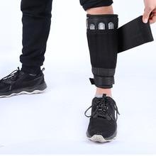 Одна пара Вес Galligaskins Регулируемый Для Бега Спортзала фитнеса пустой запястье хвостовик Crossfit ногами оборудование для фитнес-тренировок