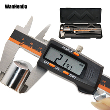 Electronic Stainless Steel Calipers Digital Vernier Caliper 0-150mm 0.01mm Micrometer Paquimetro Measuring Tool caliper