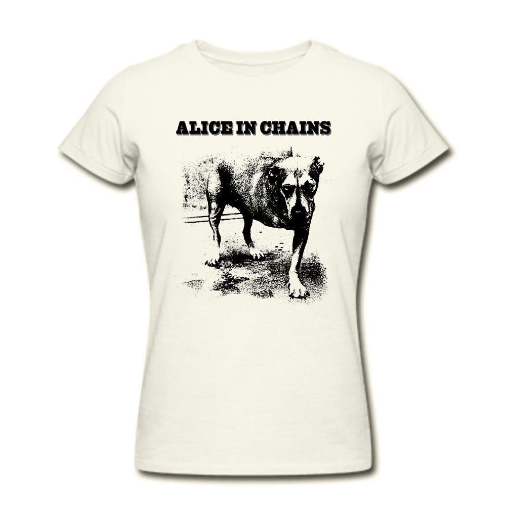 Alice In Chains Dog T Shirts Seattle Grunge Men And Women Tees Big