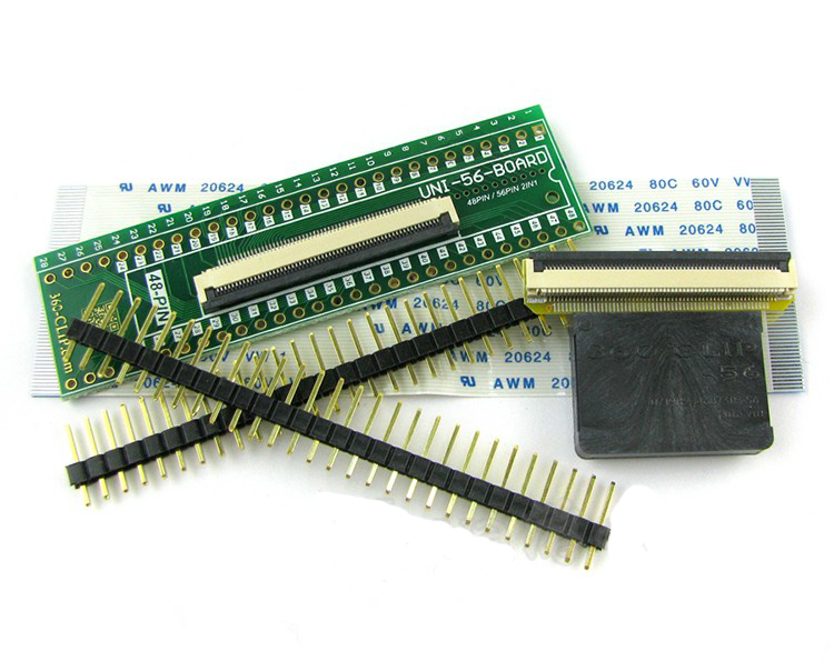 56pin Универсальный 360 зажим tsop nand flasher для ps3 для xbox360