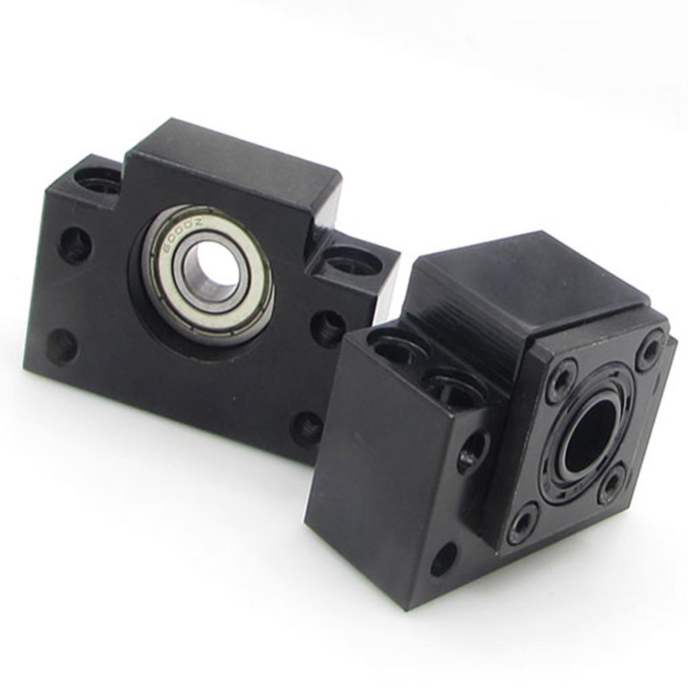 1SET BK15+BF15 for SFU2005 SFU2010 Ball Screw End Support CNC parts XYZ bk17 bf17 ball screw end supports for ball screw sfu2505 sfu2005 sfu2510 support cnc xyz