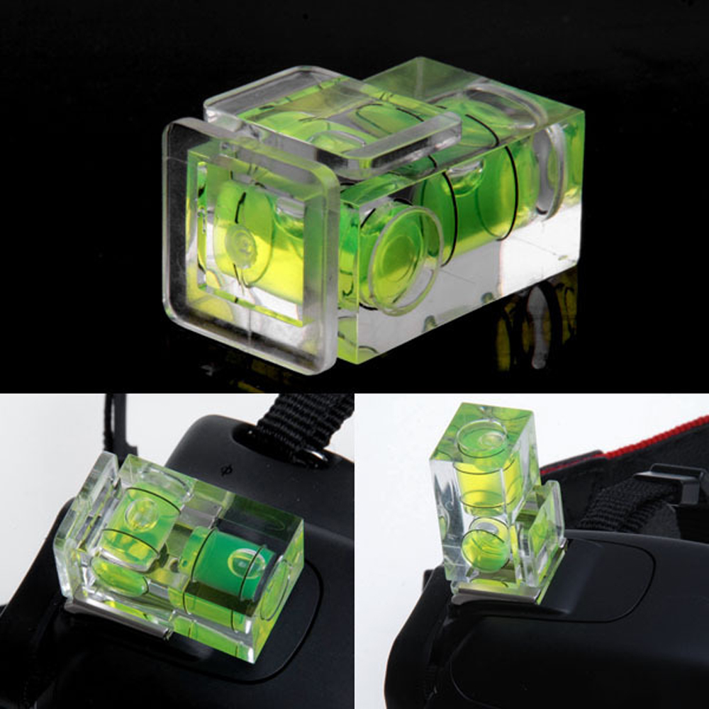 Image 4 - WINGRIDY 3 Axis Hot Shoe Fixed Bubble Spirit Level 3D 2D Spirit Level For Canon/Nikon/Pentax DSLR Camera Photography Accessories-in Photo Studio Accessories from Consumer Electronics