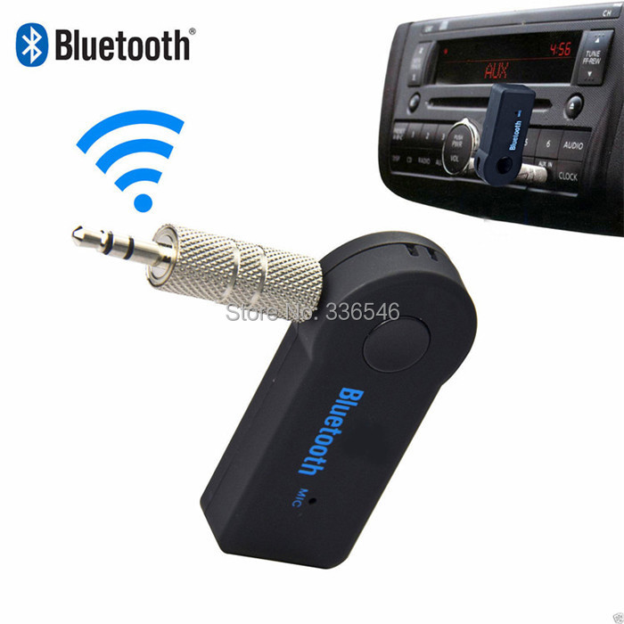Wireless Car 3 5mm Bluetooth Receiver Speaker Headphone Adapter Audio Stereo Music Receiver Home Handsfree Bluetooth