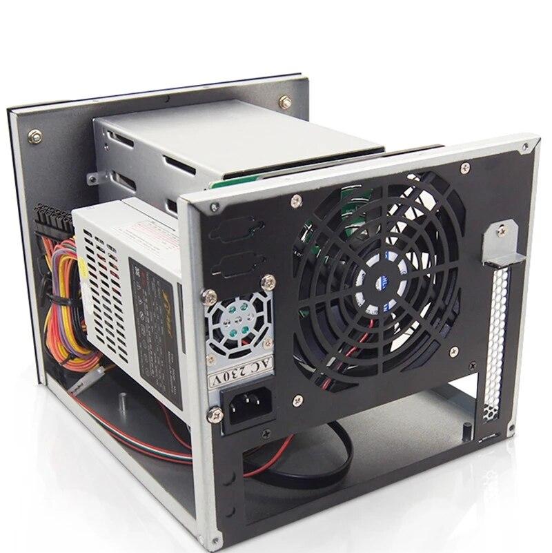 Neue Kommen NAS Storage Server Chassis IPFS Miner 4-bay festplatte gehäuse für power supply unit bergbau netzteil für filecoin