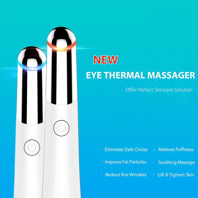 LSHOW Eye Massager Face Massager Beauty Device High Frequency Vibrating Massager Anti-aging Galvanic Wand Anions Eye Care Tools multifunctional eye massager device heating sonic therapy anti aging wrinkle removal galvanic anions facial massaging tool