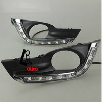 Car Accessories Super White High Quality Special LED Daytime Running Lights For Nissan Teana 2013